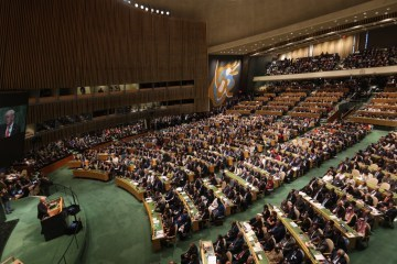 Poroshenko at UN: Russian aggression is a daily reality for Ukrainians