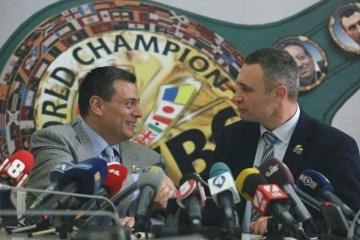 世界拳击理事会主席:乌克兰理应举办大型拳击比赛