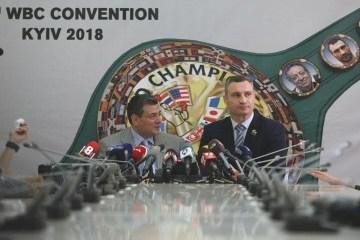 WBC-Präsident: Ukraine hat es verdient, große Titelkämpfe zu veranstalten