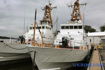 Island-class patrol boats to arrive in Ukraine within six months – Navy commander