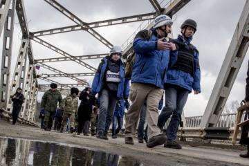 OSCE監視団、3日の停戦違反件数を約500回と発表