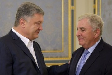 Poroshenko agradece al general estadounidense por su trabajo en Ucrania