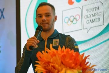 El gimnasta Oleg Verniaiev, mejor deportista de noviembre en Ucrania