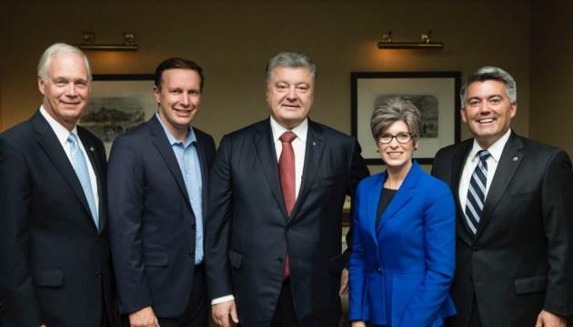Präsident Poroschenko dankt dem US-Kongress für Unterstützung
