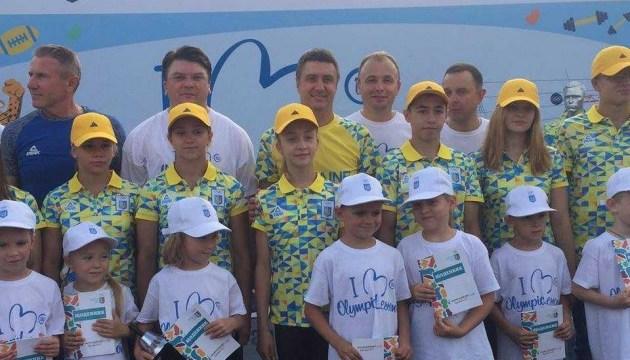 Вячеслав Кириленко посетил Олимпийский урок на Оболонской набережной