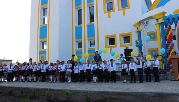 Шкільний дзвінок пролунав для 84 учнів новозбудованої школи на Сумщині