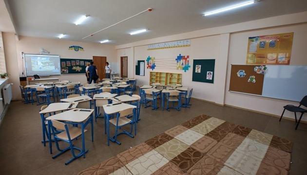 Poroshenko reports on development of schools over past five years