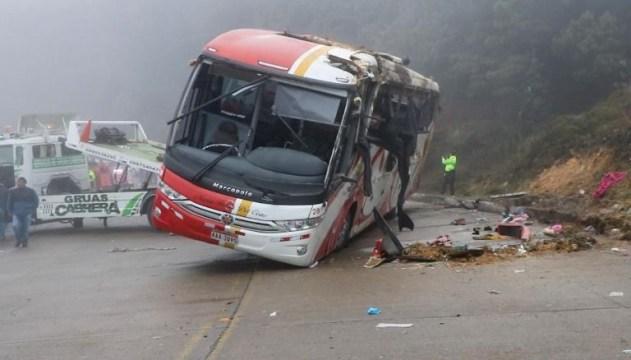 В Эквадоре пассажирский автобус совершил ДТП: 11 погибших, 40 раненых
