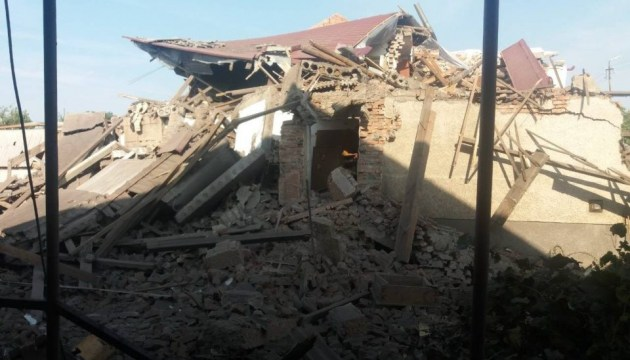 На Закарпатье взрыв газа полностью разрушил дом