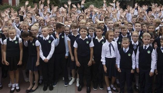 Президент заявляє про 8,5 тисячі нових місць у дитсадках