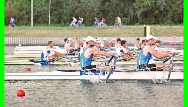 Веслування: українці здобули п`ять нагород на чемпіонаті Європи (U23) у Білорусі