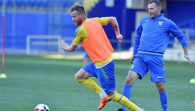 Збірна України з футболу збирається у Києві для підготовки до старту Ліги націй УЄФА