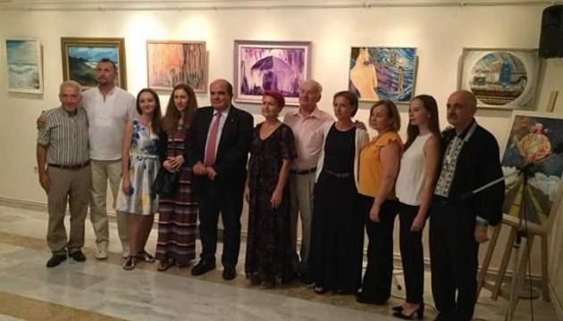 В Афінах відкрили виставку українських художників Греції