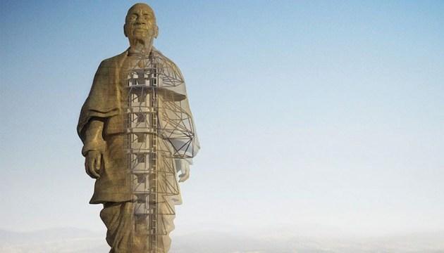 В Индии достраивают самую высокую в мире статую
