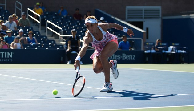 Цуренко: В теннисном поединке с Вондроушовой мешала только жара