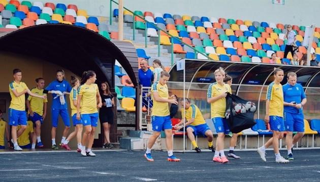 Футбол: Женская сборная провела тренировку в Тернополе перед матчем отбора ЧМ-2019