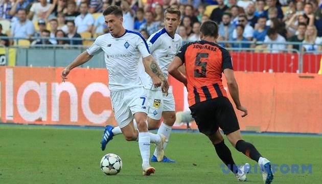 Динамовец Вербич признан лучшим игроком УПЛ в августе