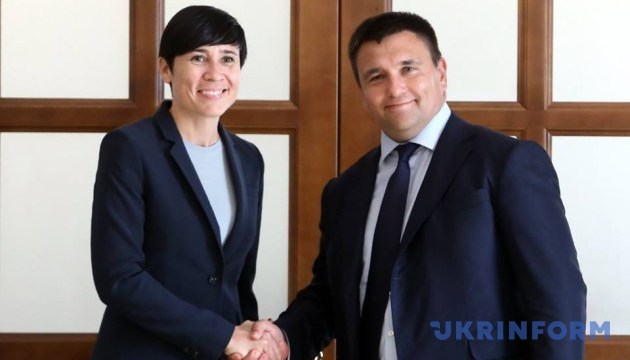 Klimkin: Norway has allocated over EUR 160 mln to Ukraine since 2014