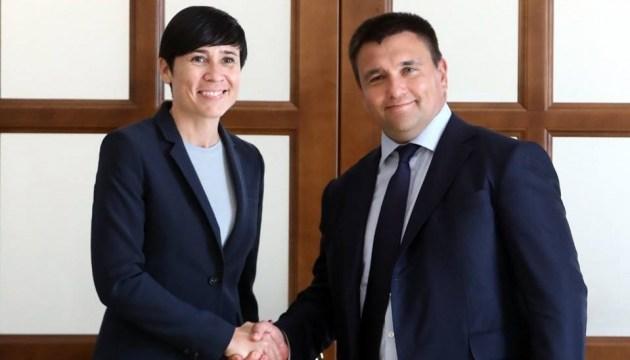 Глава МИД Норвегии завтра посетит Донбасс