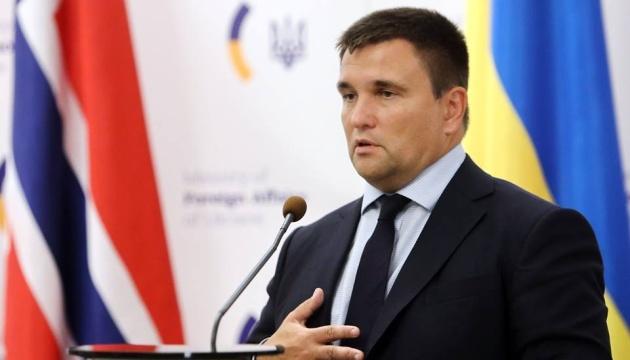 Pavlo Klimkine: Le consul hongrois quittera l'Ukraine dans les prochains jours