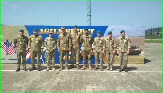 """Ukrainische Marinesoldaten kamen nach Georgien zu NATO-Übungen """"Agile Spirit"""""""