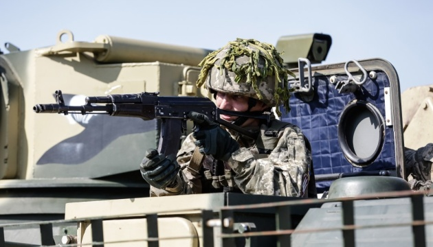Militants launched 31 attacks on Ukrainian troops in Donbas in last day