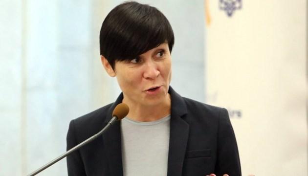 Глава МЗС Норвегії поїхала на Донбас