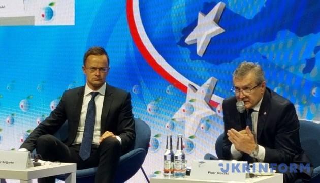 Сіярто заявляє про подвійні стандарти Єврокомісії щодо Nord Stream 2