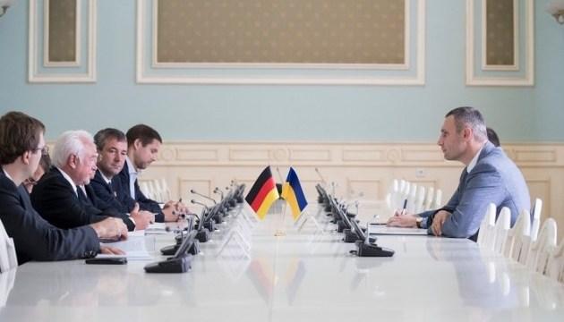 Кличко договорился о привлечении немецких инвестиций в экономику Киева