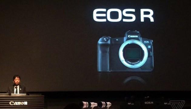 Canon збирається випустити свою першу бездзеркальну камеру