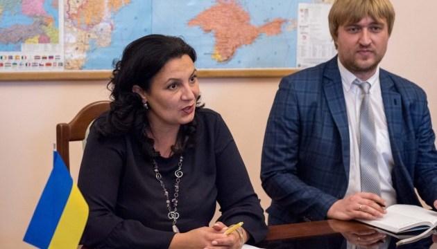 Климпуш-Цинцадзе просить Бундестаг сприяти звільненню політв'язнів Кремля