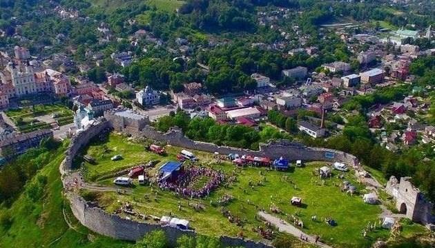 Реконструкцию четырех эпох представят на высоте 105 метров на Тернопольщине