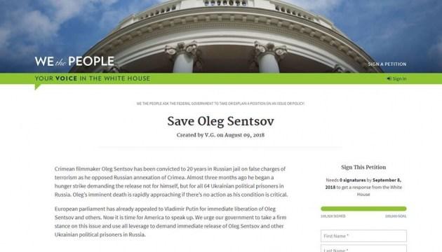 """Online-Petition """"SaveOlegSentsov"""": 100.000 Unterschriften in den USA gesammelt"""
