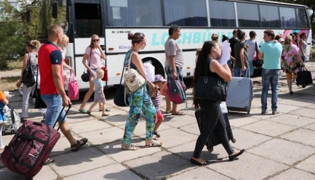 Evacuan a los residentes de la ciudad de Armiansk ocupada tras el deterioro de la situación ecológica (Foto)