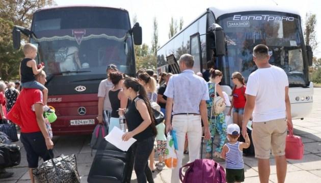Evakuierung von Kindern aus Armjansk - Bilderstrecke
