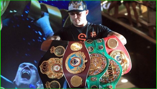 Boxen: Usyk will Verhandlungen über Kampf mit Lebedew wegen des Kampfes mit Bellew verschieben