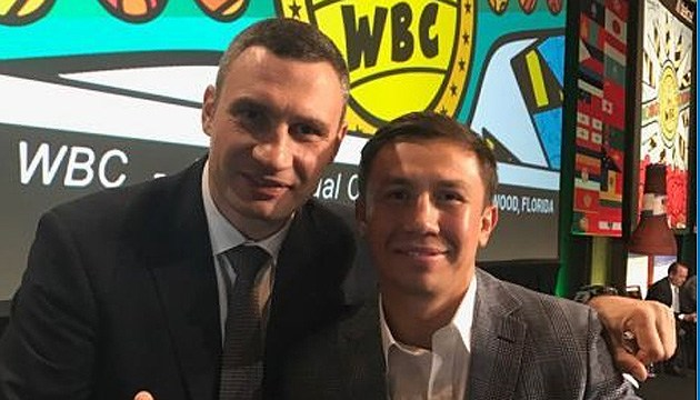 Боксер Головкин примет участие в 56-м конгрессе WBC в Киеве