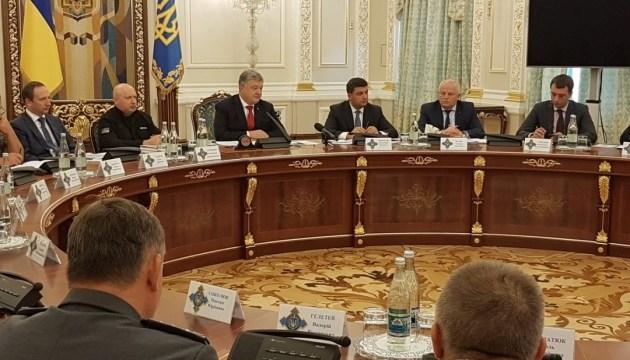 Порошенко поручил разработать Морскую доктрину Украины