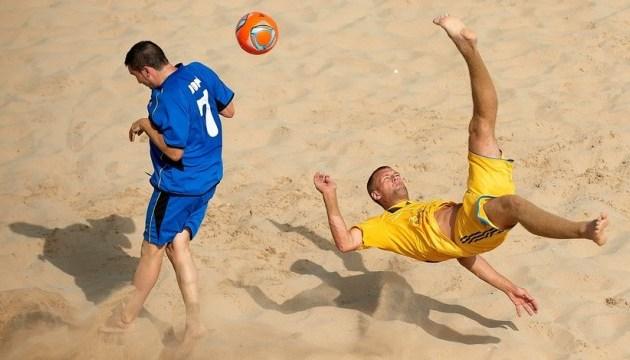 Пляжный футбол: украинцы проиграли на старте суперфинала Евролиги