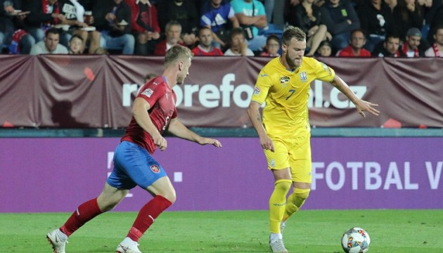 UEFA Nations League: Ukraine besiegt Tschechien 2:1