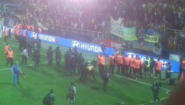 Неудачное завершение яркого матча: в Чехии арестовали 8 украинцев