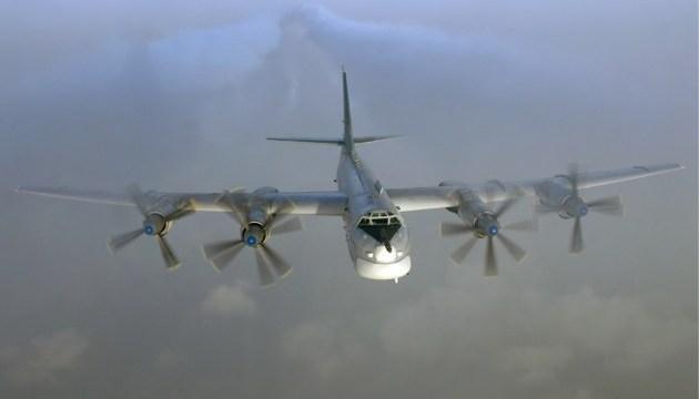 Винищувачі США перехопили біля Аляски російські ядерні бомбардувальники