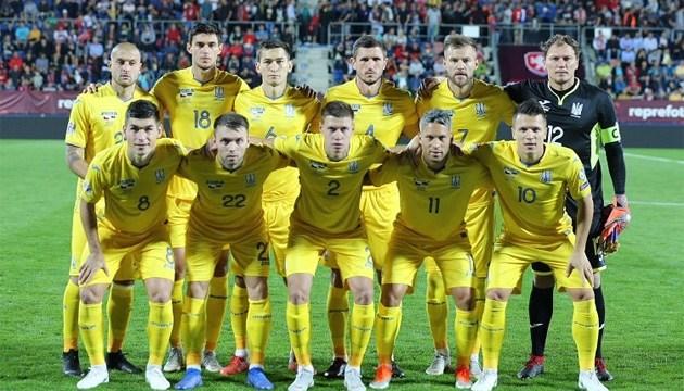 Футбол: с Чехией сборная Украины одержала шестую волевую победу в истории