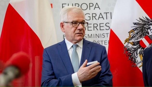 Курс на ЕС и НАТО: Чапутович обещает, что Польша защитит выбор Украины