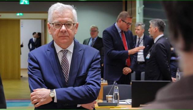 Rumbo hacia la UE y la OTAN: Czaputowicz promete que Polonia defenderá la elección de Ucrania