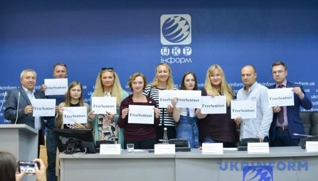 Результати Всеукраїнського флешмобу на підтримку Олега Сенцова та інших бранців Кремля