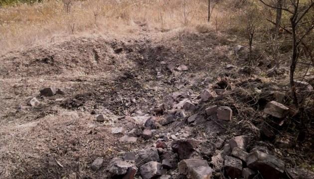 Штаб ООС показав наслідки артобстрілу підступів до Кримського