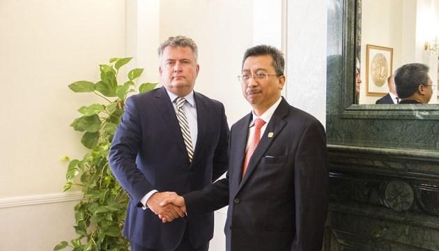 Посол Малайзии начал миссию в Украине