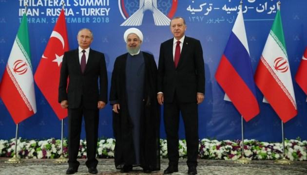 Декларация на троих: Иран и Турция не уйдут из Сирии, а Путин готовится к «провокациям»