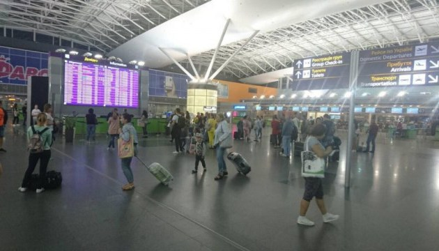 Boryspil airport records passenger growth in January